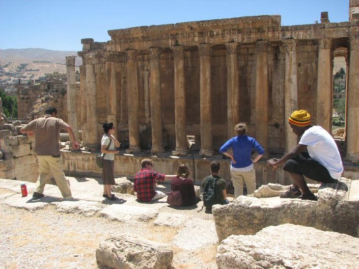Visit to Baalbek