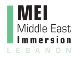 MEI Lebanon Logo